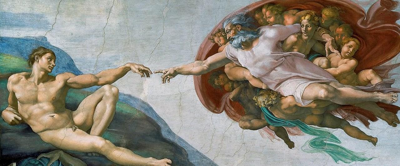 <a href='dettagli.aspx?c=20&sc=2&id=10&tbl=contenuti'><div class='slide_title'><h3>Il genio del Rinascimento</h3></div><div class='slide_text'><span>La vita di Michelangelo Buonarroti, il genio del rinascimento:  1475 Nasce il 6 marzo a Chiusi della Verna (ma è ancora accesa la disputa sui natali di Michelangelo con Caprese)*, nell'alta Valtibe ...</span></div></a>
